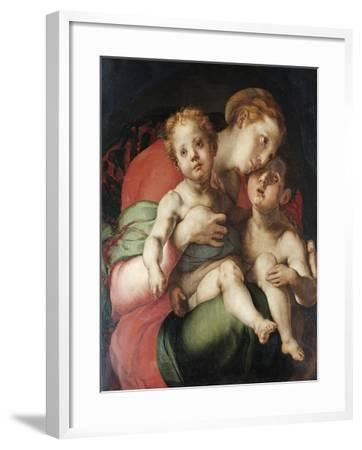 Madonna and Child with the Young St. John-Pontormo-Framed Giclee Print