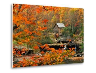 Glade Creek Grist Mill-Ron Watts-Metal Print