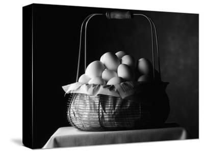 All Eggs in One Basket-Jim Craigmyle-Stretched Canvas Print