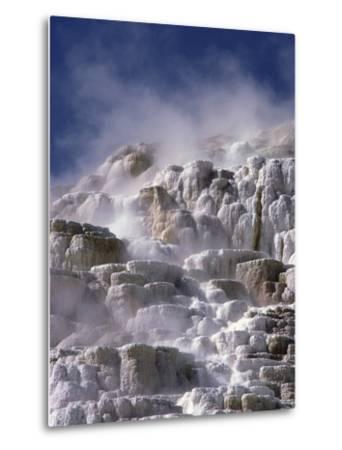 Mammoth Hot Springs-Craig Aurness-Metal Print