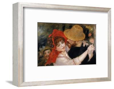 Detail of Dancing Couple from Le Bal a Bougival-Pierre-Auguste Renoir-Framed Premium Giclee Print