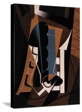Still Life on a Chair-Juan Gris-Stretched Canvas Print