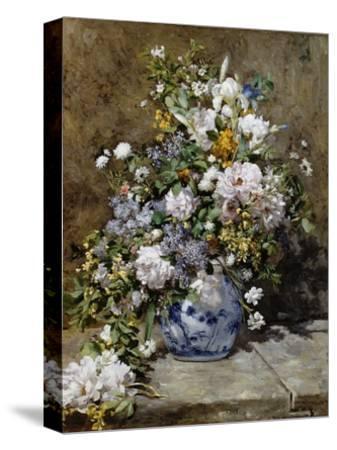 Spring Bouquet-Pierre-Auguste Renoir-Stretched Canvas Print