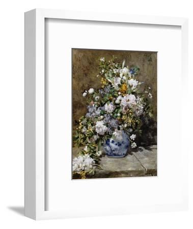Spring Bouquet-Pierre-Auguste Renoir-Framed Premium Giclee Print