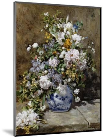 Spring Bouquet-Pierre-Auguste Renoir-Mounted Premium Giclee Print
