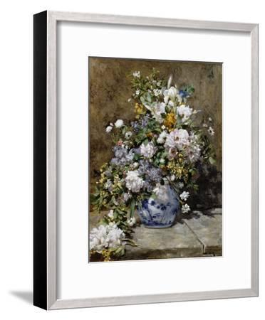 Spring Bouquet-Pierre-Auguste Renoir-Framed Giclee Print