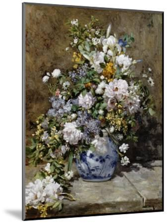 Spring Bouquet-Pierre-Auguste Renoir-Mounted Giclee Print