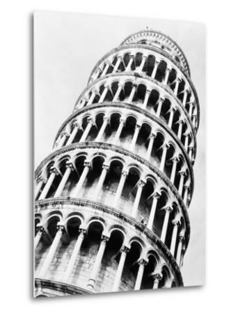 Leaning Tower of Pisa from Below-Bettmann-Metal Print
