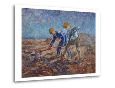 The Diggers-Vincent van Gogh-Metal Print