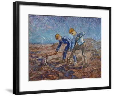 The Diggers-Vincent van Gogh-Framed Giclee Print