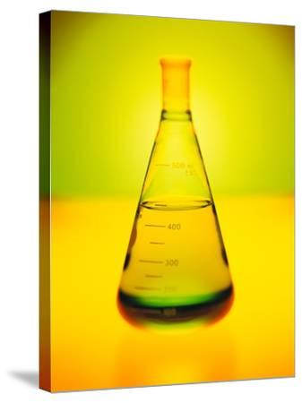 Chemistry Beaker-Thom Lang-Stretched Canvas Print