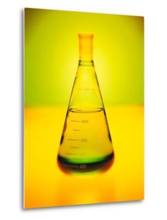 Chemistry Beaker-Thom Lang-Metal Print