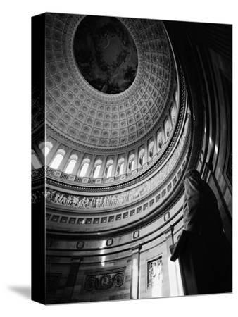 Rotunda of the United States Capitol-G^E^ Kidder Smith-Stretched Canvas Print