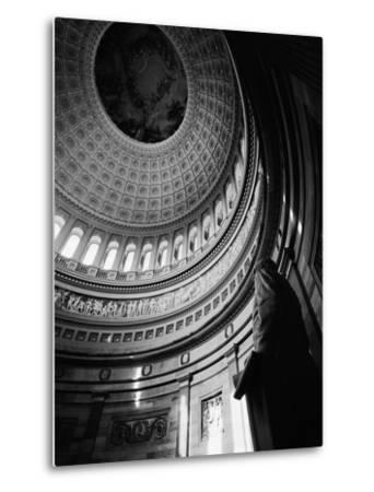 Rotunda of the United States Capitol-G^E^ Kidder Smith-Metal Print