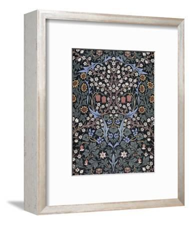 Blackthorn, Wallpaper-William Morris-Framed Premium Giclee Print