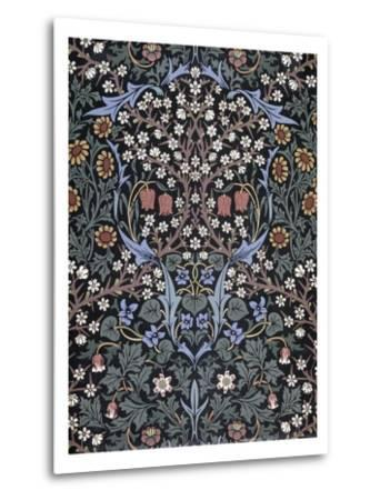 Blackthorn, Wallpaper-William Morris-Metal Print