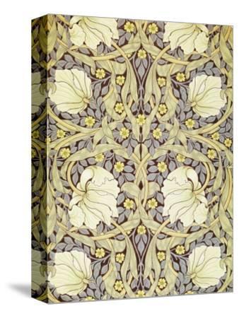 Pimpernell, Wallpaper Design-William Morris-Stretched Canvas Print