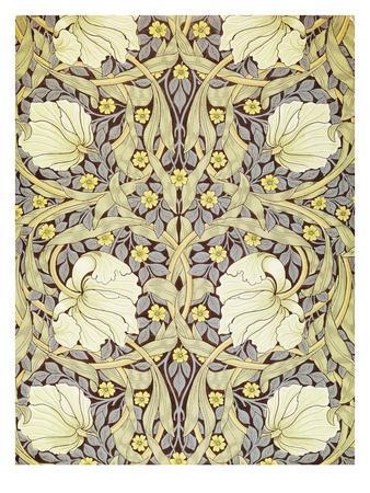 Pimpernell, Wallpaper Design-William Morris-Premium Giclee Print