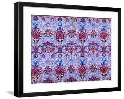 Floral Patterned Wallpaper-William Morris-Framed Premium Giclee Print