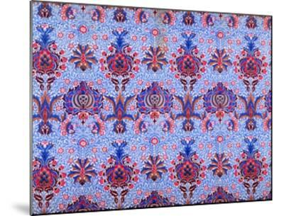 Floral Patterned Wallpaper-William Morris-Mounted Premium Giclee Print
