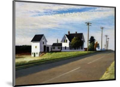 Route 6, Eastham-Edward Hopper-Mounted Premium Giclee Print