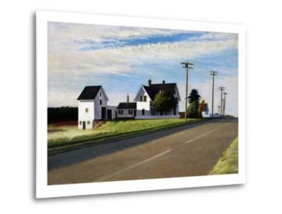 Route 6, Eastham-Edward Hopper-Metal Print