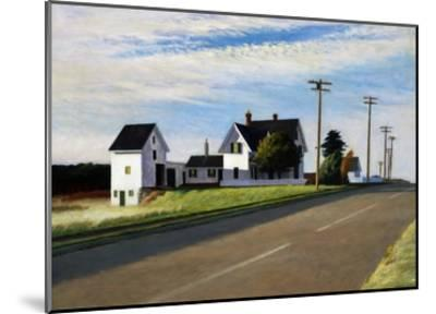 Route 6, Eastham-Edward Hopper-Mounted Giclee Print