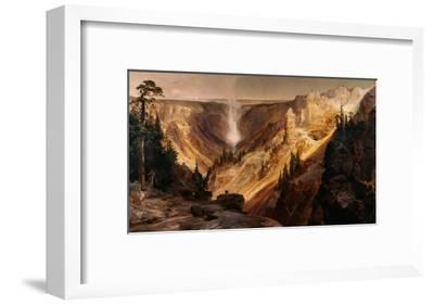 The Grand Canyon of the Yellowstone-Thomas Moran-Framed Giclee Print