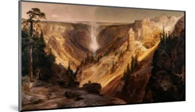 The Grand Canyon of the Yellowstone-Thomas Moran-Mounted Giclee Print