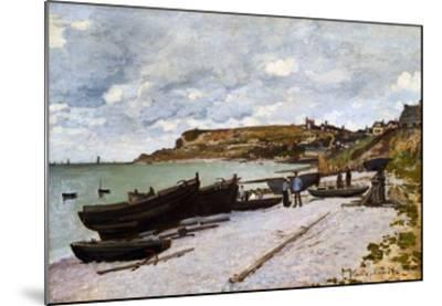 Sainte-Adresse-Claude Monet-Mounted Giclee Print