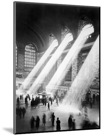 Sunbeams in Grand Central Station--Mounted Premium Photographic Print