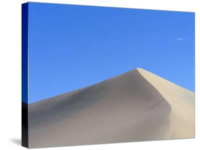 Sand Dune and Blue Sky-Paul Souders-Stretched Canvas Print
