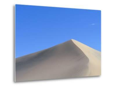 Sand Dune and Blue Sky-Paul Souders-Metal Print