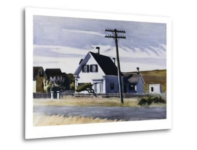 Lombard's House-Edward Hopper-Metal Print