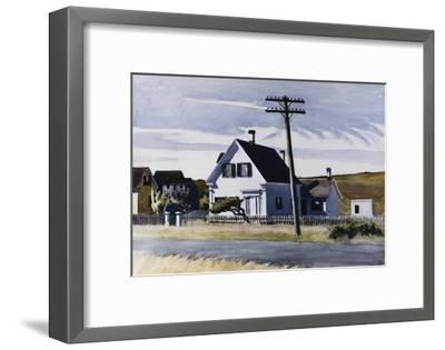 Lombard's House-Edward Hopper-Framed Giclee Print