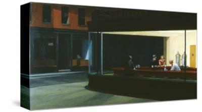 Nighthawks-Edward Hopper-Stretched Canvas Print