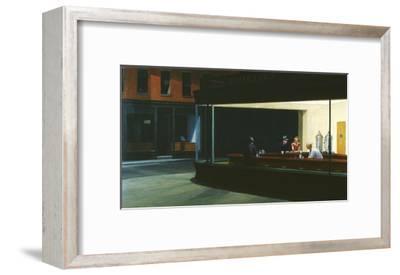 Nighthawks-Edward Hopper-Framed Giclee Print