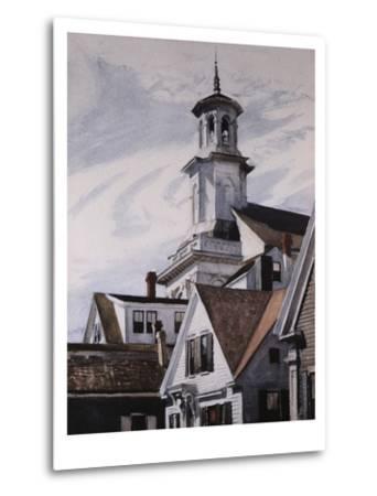 Methodist Church, Provincetown-Edward Hopper-Metal Print