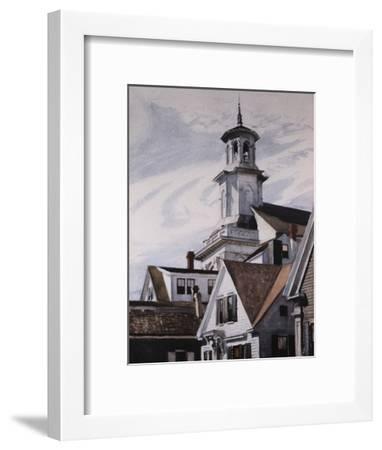 Methodist Church, Provincetown-Edward Hopper-Framed Giclee Print