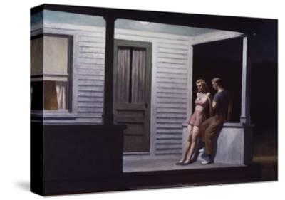 Summer Evening-Edward Hopper-Stretched Canvas Print