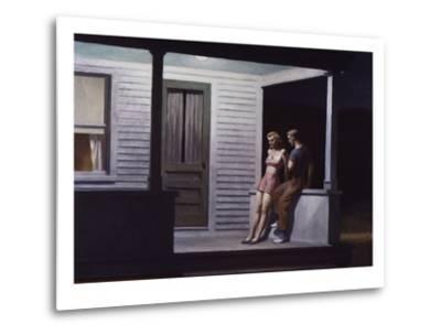 Summer Evening-Edward Hopper-Metal Print
