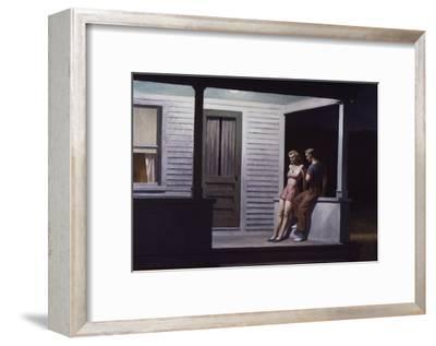 Summer Evening-Edward Hopper-Framed Giclee Print
