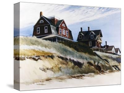 Cottages at Wellfleet-Edward Hopper-Stretched Canvas Print