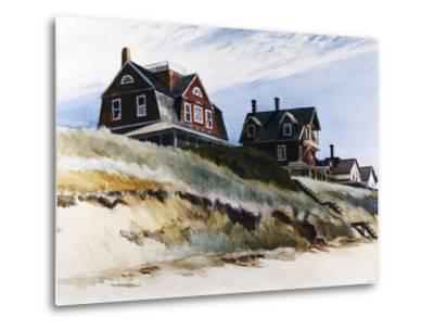 Cottages at Wellfleet-Edward Hopper-Metal Print