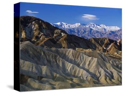 Death Valley Landscape-Bob Rowan-Stretched Canvas Print