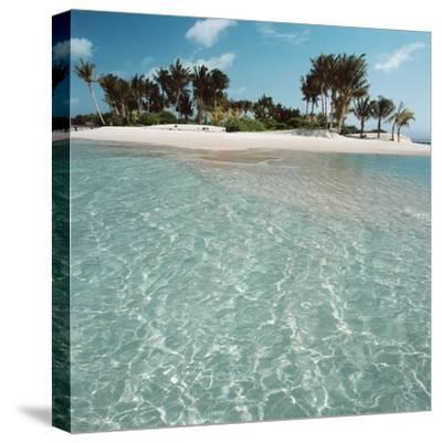 Shallow Water Near Beach--Stretched Canvas Print