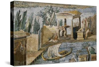 Detail of Palestrina Mosaic-S^ Vannini-Stretched Canvas Print