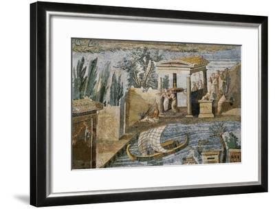 Detail of Palestrina Mosaic-S^ Vannini-Framed Giclee Print