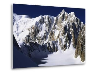 Mont Maudit in the French Alps-S^ Vannini-Metal Print