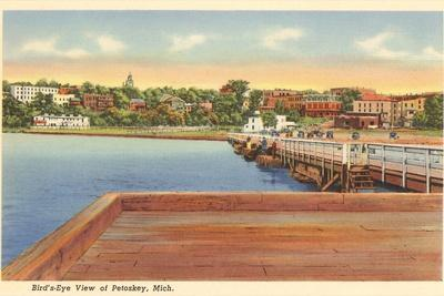Petoskey, Michigan--Stretched Canvas Print
